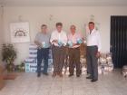 Campanha do leite e casa do Bom Menino Maio/2005